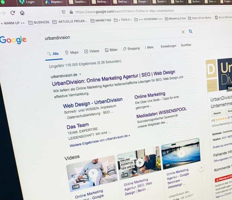Suchergebnisse Google: Warum gibt es unterschiedliche Suchergebnisse?