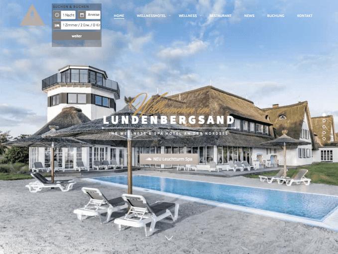 Hotel Lundenbergsand