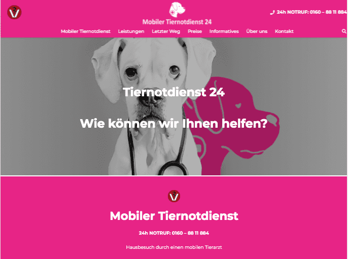 Mobiler Tiernotdienst