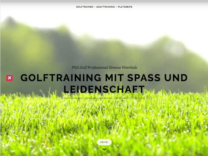 Simone Weinholz Golf