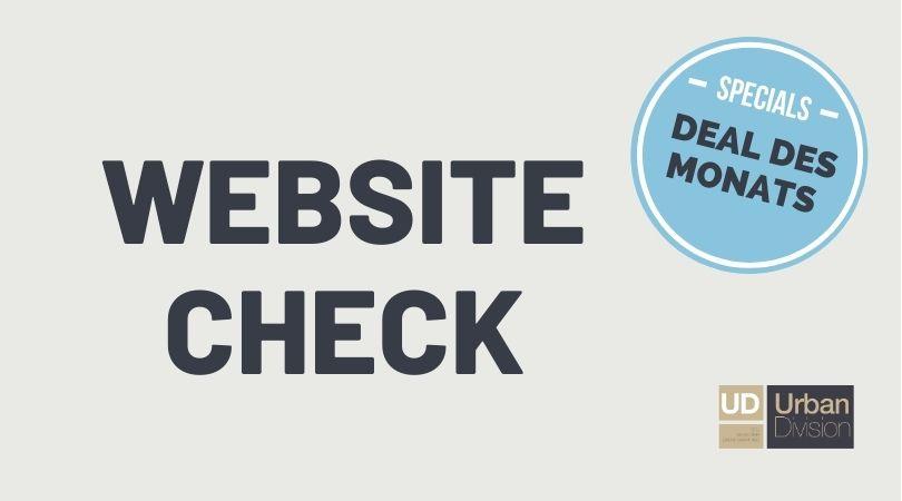 Website Check – Live Check Webinar am 31.05.2021